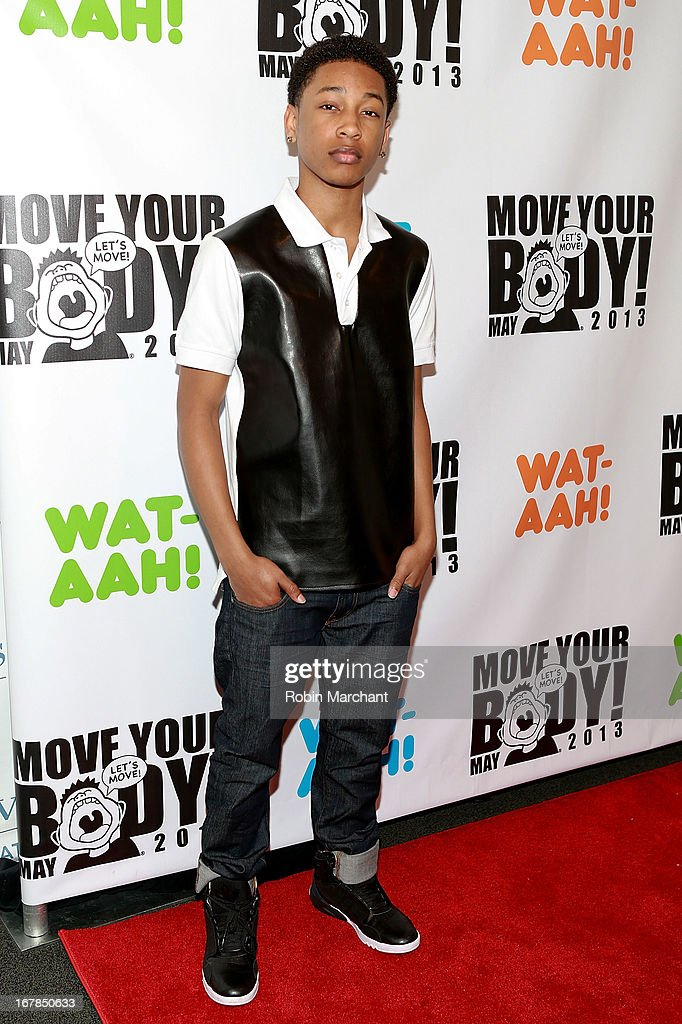 Jacob Latimore attends Move Your Body 2013 at Avenues World School on May 1, 2013 in New York City.