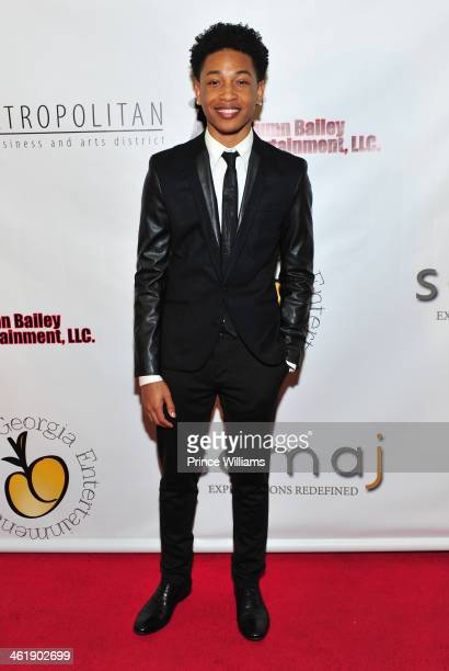Jacob Latimore attends the 2nd annual Georgia Entertainment gala at Georgia World Congress Center on January 11 2014 in Atlanta Georgia