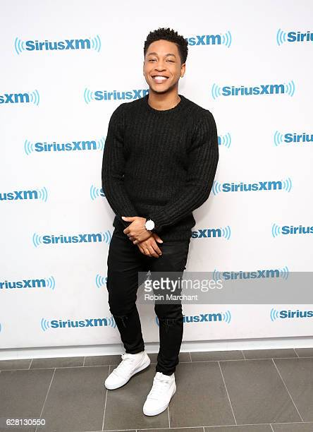 Jacob Latimore visits at SiriusXM Studio on December 6 2016 in New York City