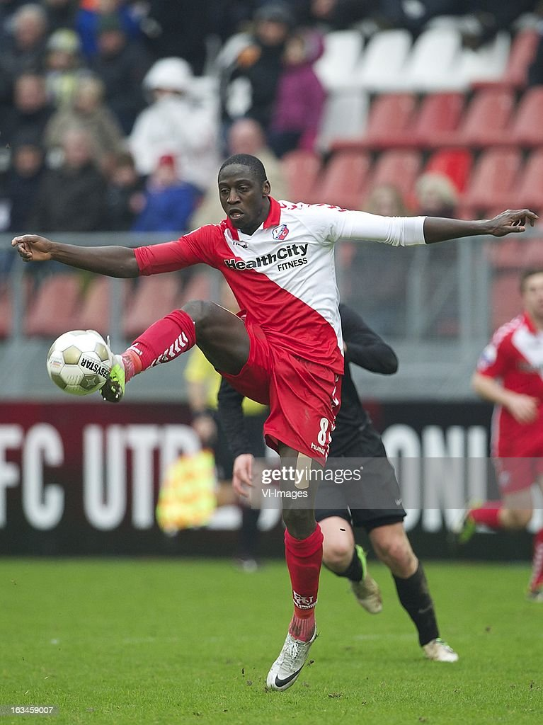 Jacob Mulenga of FC Utrecht during the Dutch Eredivisie match between FC Utrecht and RKC Waalwijk at the Galgenwaard on march 10, 2013 in Utrecht, The Netherlands