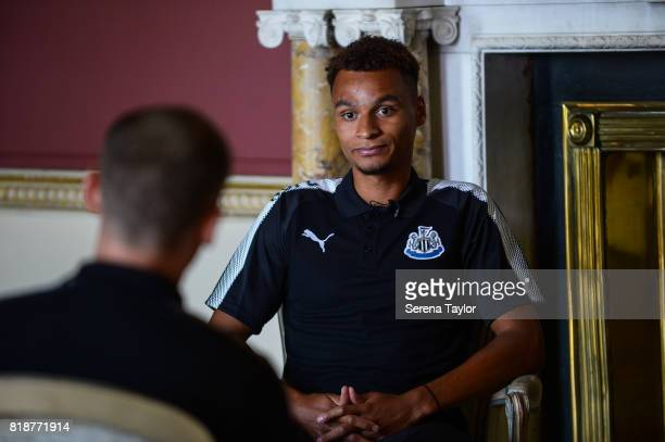 Jacob Murphy during his first interview at Carton House on July 18 in Maynooth Ireland