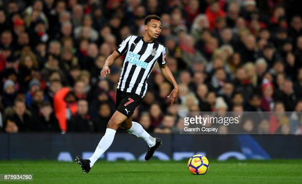 Jacob Murphy of Newcastle United during the Premier League match between Manchester United and Newcastle United at Old Trafford on November 18 2017...
