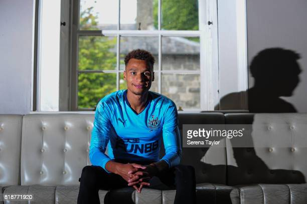 Jacob Murphy poses for photographs during a photocall at Carton House on July 18 in Maynooth Ireland