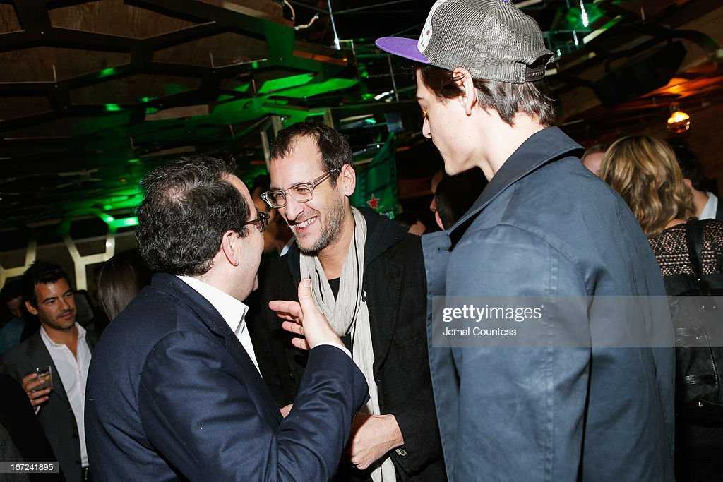 Jacob Norton, Peter Sandeckes and guest attend the Tribeca Film Festival 2013 After Party 'Before Midnight' sponsored by Heineken on April 22, 2013 in New York City.
