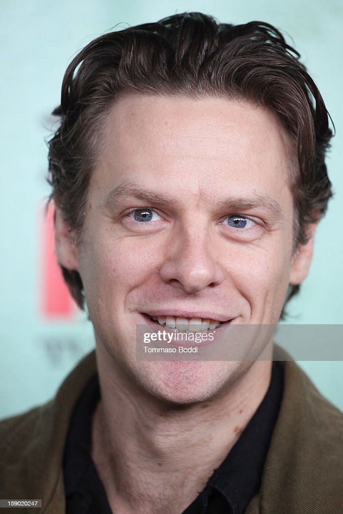 Jacob Pitts attends the FX's 'Justified' season 4 premiere held at Paramount Theater on the Paramount Studios lot on January 5, 2013 in Hollywood, California.