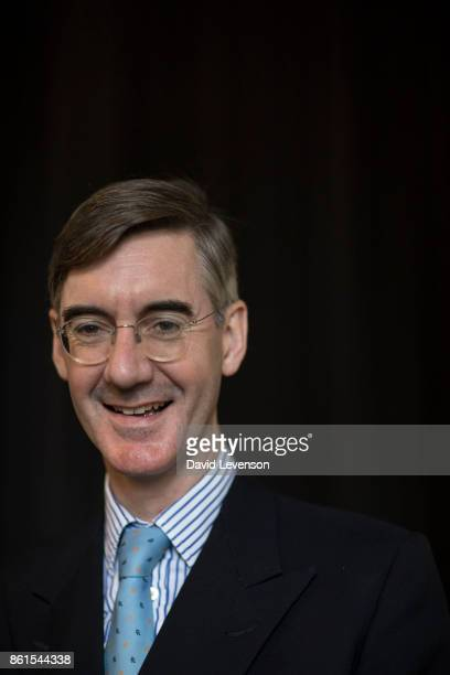 Jacob ReesMogg British Conservative politician during the Cheltenham Literature Festival on October 14 2017 in Cheltenham England