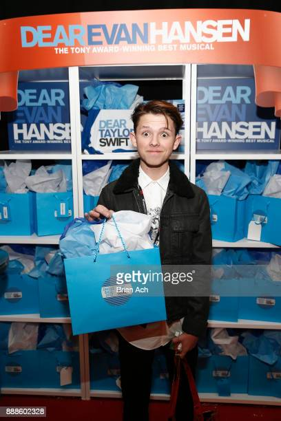 Jacob Sartorius attends the Z100's Jingle Ball 2017 GIFTING LOUNGE on December 8 2017 in New York City
