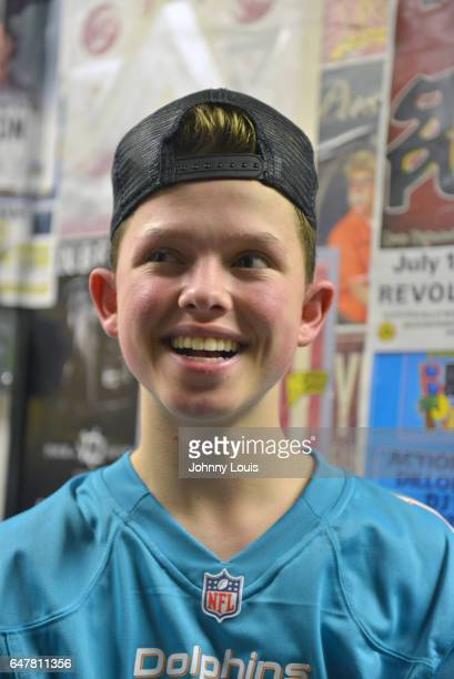 Jacob Sartorius backstage during 'The last text World tour' at Revolution Live on March 3 2017 in Fort Lauderdale Florida