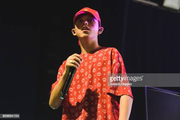 Jacob Sartorius performs at O2 Forum Kentish Town on October 9 2017 in London England