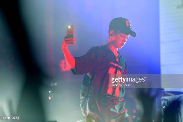 Jacob Sartorius performs onstage during 'The last text World tour' at Revolution Live on March 3 2017 in Fort Lauderdale Florida