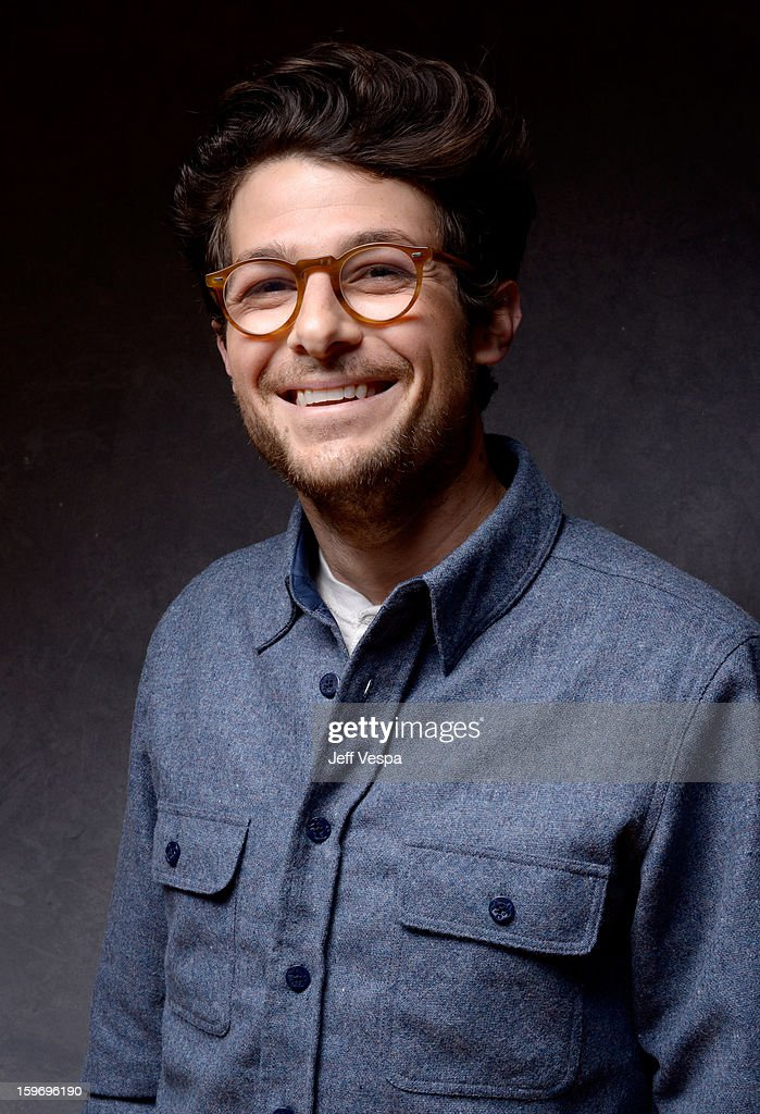 Jacob Soboroff poses for a portrait during the 2013 Sundance Film Festival at the WireImage Portrait Studio at Village At The Lift on January 18, 2013 in Park City, Utah.