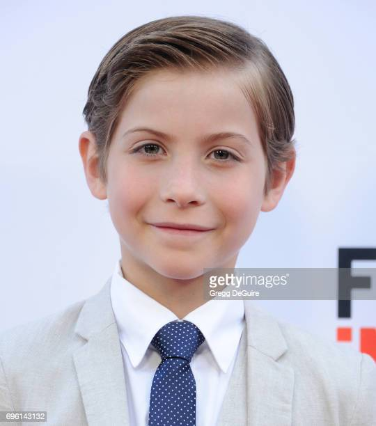 Jacob Tremblay arrives at the 2017 Los Angeles Film Festival Opening Night Premiere Of Focus Features' 'The Book Of Henry' at Arclight Cinemas Culver...