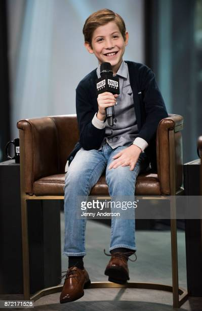 Jacob Tremblay attends AOL Build at Build Studio on November 9 2017 in New York City