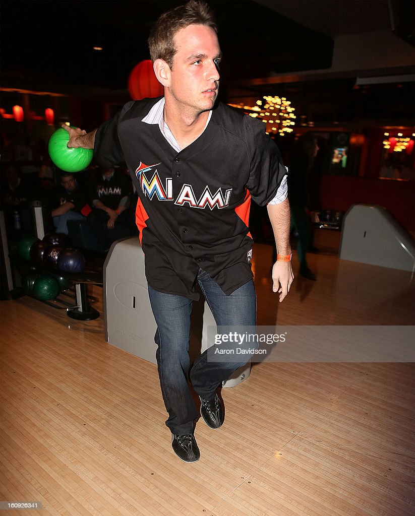 <a gi-track='captionPersonalityLinkClicked' href=/galleries/search?phrase=Jacob+Turner&family=editorial&specificpeople=6265113 ng-click='$event.stopPropagation()'>Jacob Turner</a> attends The Miami Marlins Host 7th Annual BaseBowl at Lucky Strike Lanes on February 7, 2013 in Miami Beach, Florida.