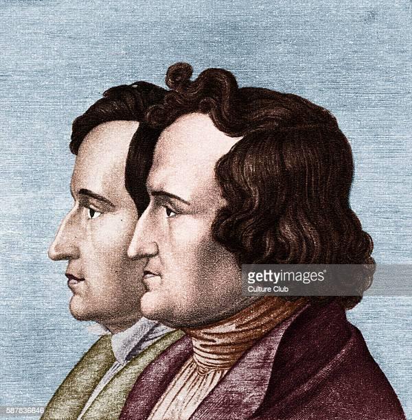 Jacob Wilhelm Grimm Brothers Grimm German authors of fairy tales folk songs folk tales based on preChristian Germanic mythology Jacob 4 January 1785...