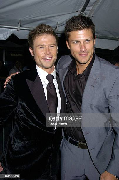 Jacob Young and Greg Vaughan during 32nd Annual Daytime Emmy Awards Outside Arrivals at Radio City Music Hall in New York City New York United States
