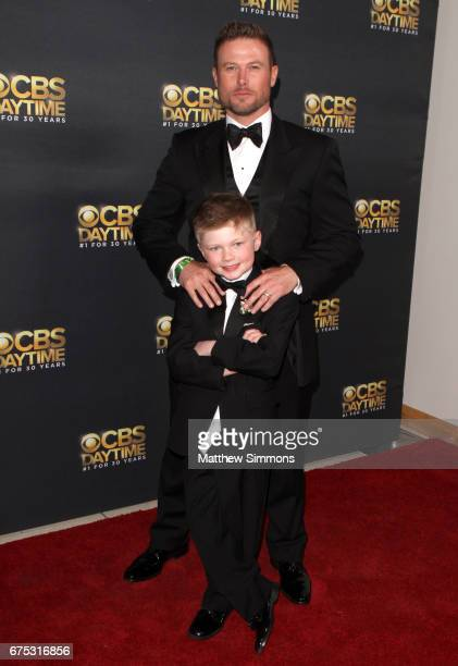 Jacob Young and Luke Young attends the CBS Daytime Emmy after party at Pasadena Civic Auditorium on April 30 2017 in Pasadena California