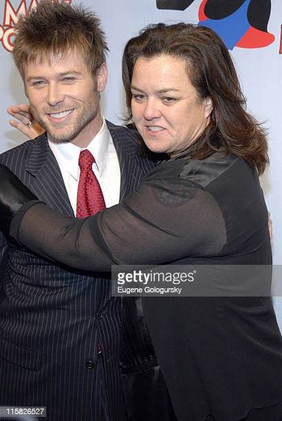 Jacob Young and Rosie O'Donnell during 'Mary Poppins' Broadway Opening Night at the New Amsterdam Theatre Arrivals November 16 2006 at New Amsterdam...