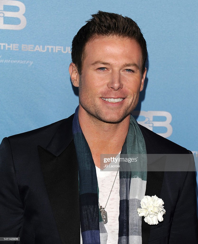 Jacob Young attends the 25th Silver Anniversary party for CBS' 'The Bold And The Beautiful on March 10, 2012 in Los Angeles, California.
