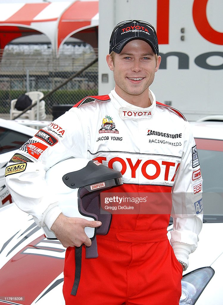 <a gi-track='captionPersonalityLinkClicked' href=/galleries/search?phrase=Jacob+Young&family=editorial&specificpeople=663641 ng-click='$event.stopPropagation()'>Jacob Young</a> during 26th Annual Toyota Pro/Celebrity Race - Press Day at Streets of Long Beach in Long Beach, California, United States.