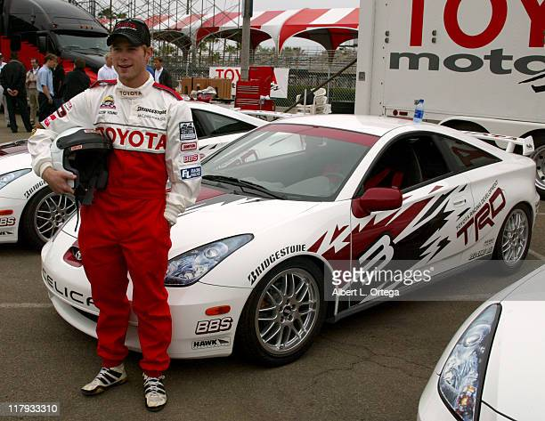 Jacob Young during 26th Annual Toyota Pro/Celebrity Race Press Day at Streets of Long Beach in Long Beach California United States