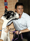 Jacob Young during Broadway Barks 8 at Shubert Alley in New York City New York United States