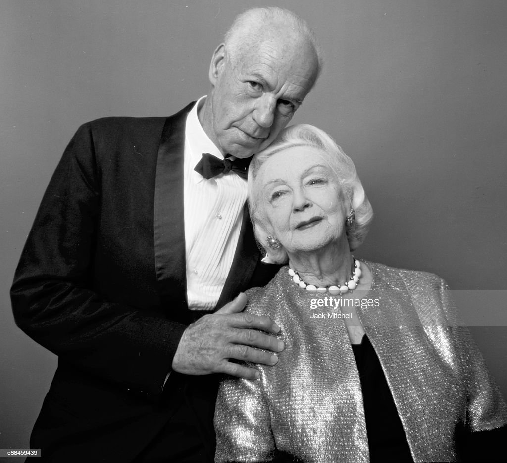 Jacob's Pillow founder Ted Shawn and his wife Ruth St Denis photographed on their 50th Wedding Anniversary April 28 1964