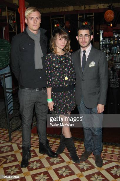 AJ Jacobson Camille Rousseau and Michael Fenton attend JCPenney and Charlotte Ronson Party at Bar Marmont on April 3 2009 in Hollywood CA