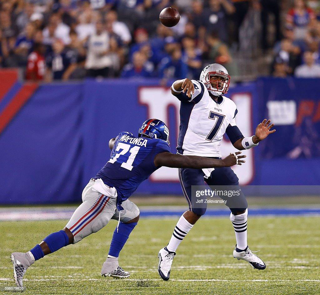 New England Patriots v New York Giants
