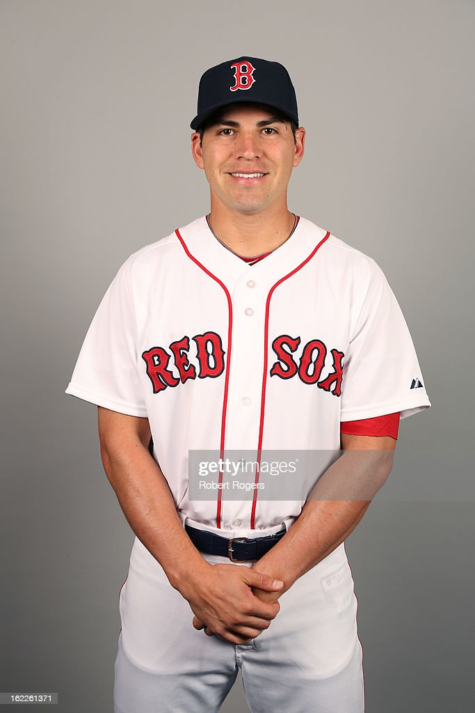 Jacoby Ellbury #2 of the Boston Red Sox poses during Photo Day on February 17, 2013 at JetBlue Park in Fort Myers, Florida.