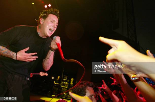Jacoby Shaddix of Papa Roach during Live 105's 9th Annual Big Friggin' Deal Concert at Shoreline Amphitheatre in Mountain View California United...