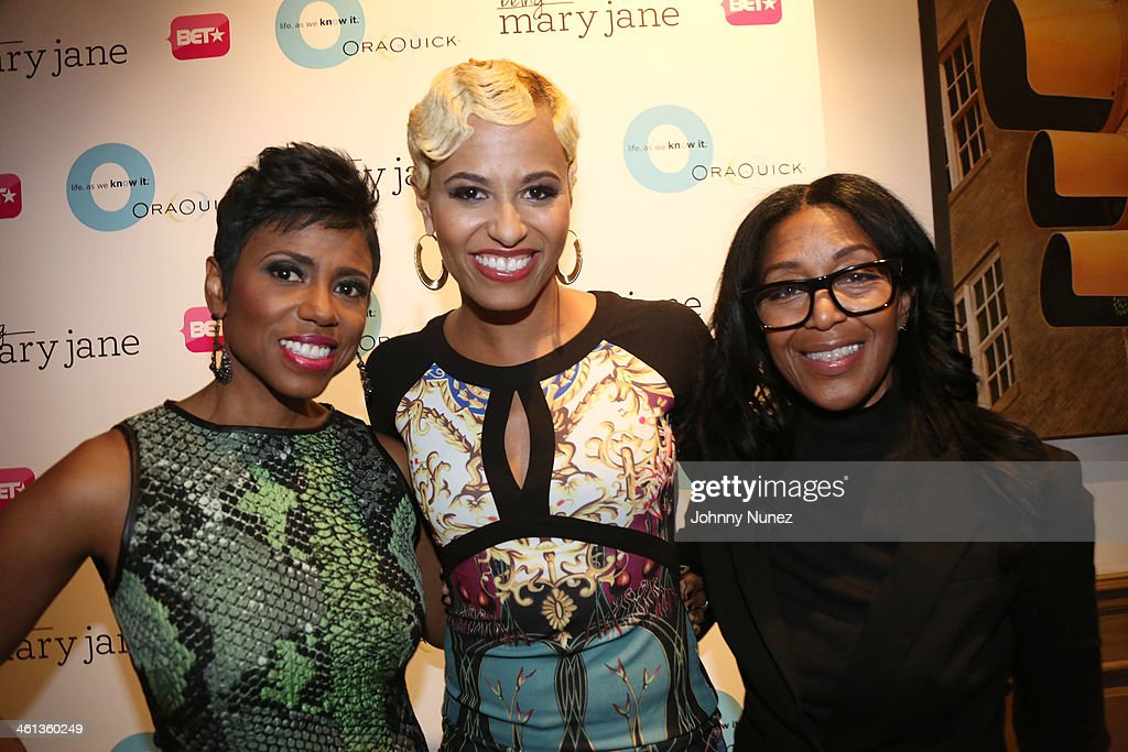 Jacque Reid Dr Rachael Ross and Robi Reed attend the 'Life As We Know It' And 'Being Mary Jane' Advance Screening at Crosby Street Hotel on January 7...