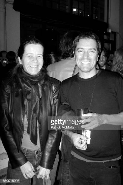 Jacqueline and Stephan Ruiz attend NEW YORK PHOTO FESTIVAL Curator's Reception at POWERHOUSE ARENA on May 13 2009 in New York City