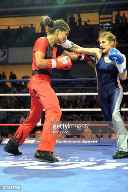 Jacqueline BEROUD / Anissa MEKSEN Championnat de France Elite Savate Boxe Francaise 2009 Stade Coubertin Paris
