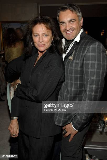Jacqueline Bisset and Martyn Lawrence Bullard attend Mayor Antonio Villaraigosa celebrates Nikki Haskell's Birthday at Sierra Towers on May 17th 2010...