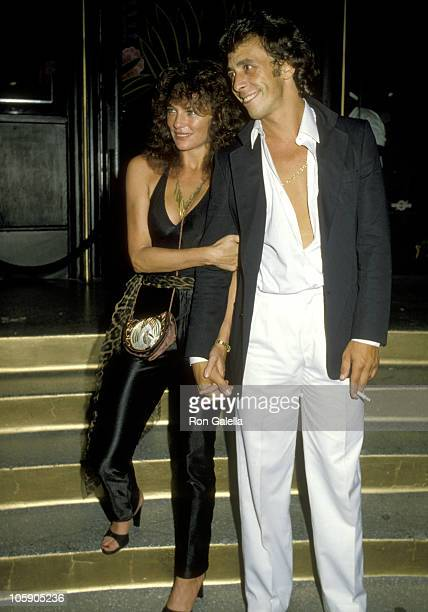 Jacqueline Bisset and Victor Drai during Jacqueline Bisset's Birthday Party September 13 1979 at Flippers Roller Disco in Los Angeles California...