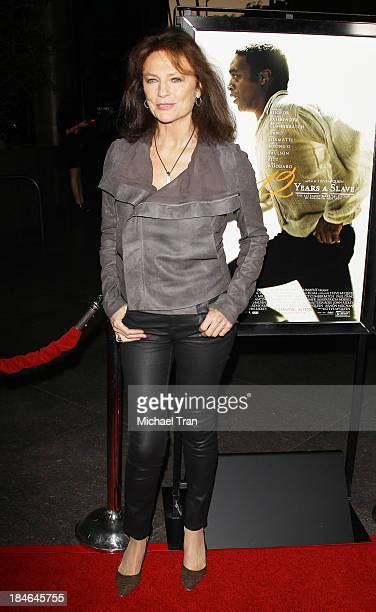 Jacqueline Bisset arrives at the special Los Angeles screening of '12 Years A Slave' held at Directors Guild of America on October 14 2013 in Los...