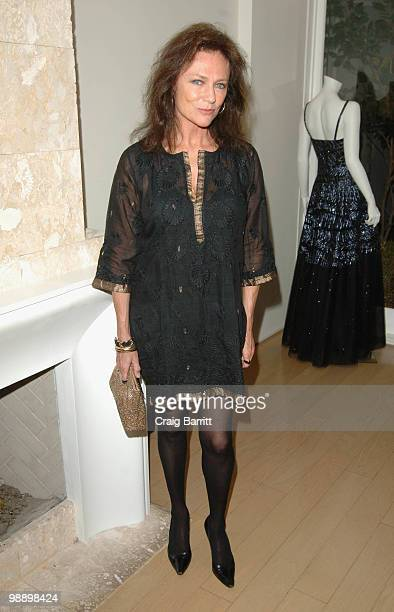 Jacqueline Bisset at Raquel Welch 'Beyond The Cleavage' Book Party Hosted By Alana Stewart at Oscar de La Renta Boutique on May 6 2010 in West...