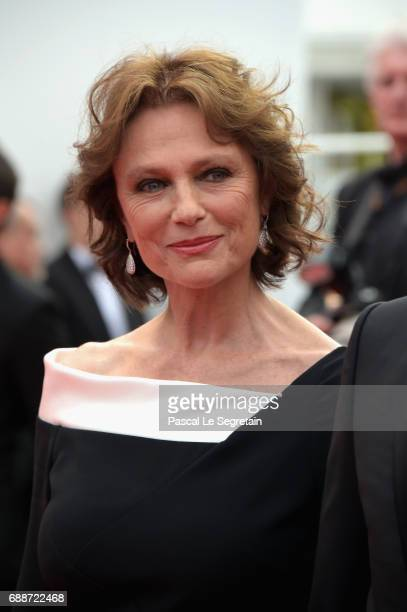 Jacqueline Bisset attends 'Amant Double ' Red Carpet Arrivals during the 70th annual Cannes Film Festival at Palais des Festivals on May 26 2017 in...