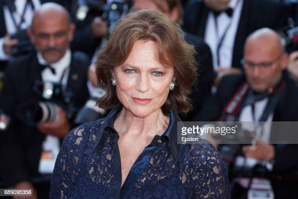 Jacqueline Bisset attends the 'Based On A True Story' screening during the 70th annual Cannes Film Festival at Palais des Festivals on May 27 2017 in...