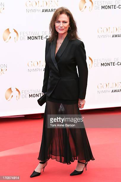 Jacqueline Bisset attends the closing ceremony of the 53rd Monte Carlo TV Festival on June 13 2013 in MonteCarlo Monaco