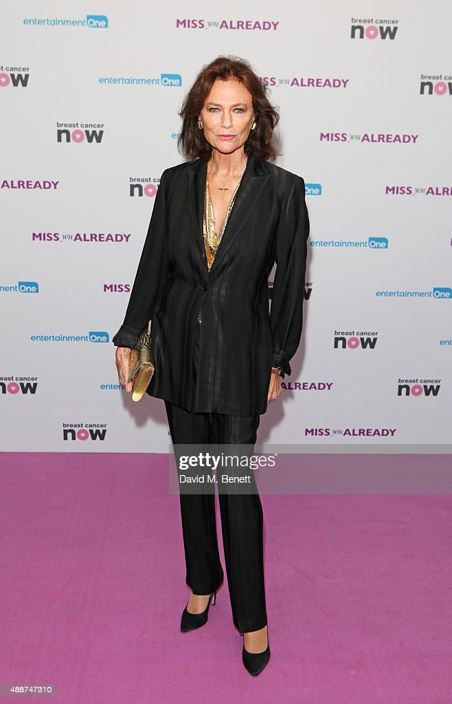 Jacqueline Bisset attends the European Premiere of 'Miss You Already' at Vue West End on September 17, 2015 in London, England.