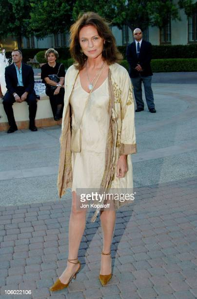 Jacqueline Bisset during Season Four Premiere Screening Of 'Nip/Tuck' Arrivals at Paramount Studios in Los Angeles California United States