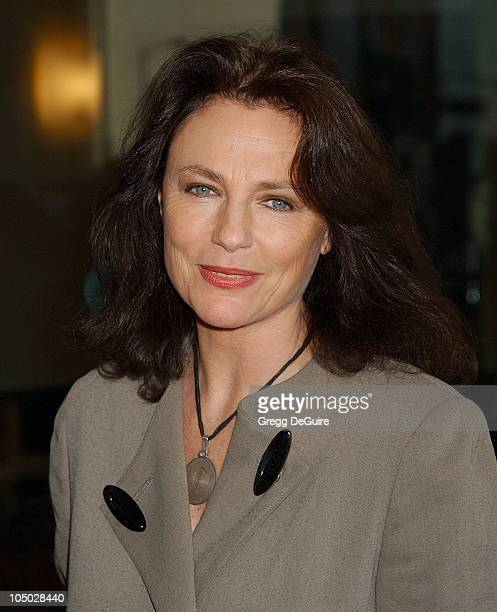 Jacqueline Bisset during The 2003 National Cable Telecommunications Assn Press Tour Day One at Renaissance Hotel in Hollywood California United States
