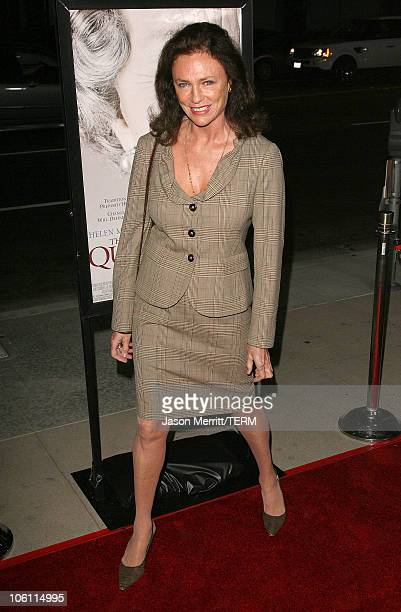 Jacqueline Bisset during 'The Queen' Los Angeles Premiere Arrivals at Academy of Motion Picture Arts and Sciences in Beverly Hills California United...