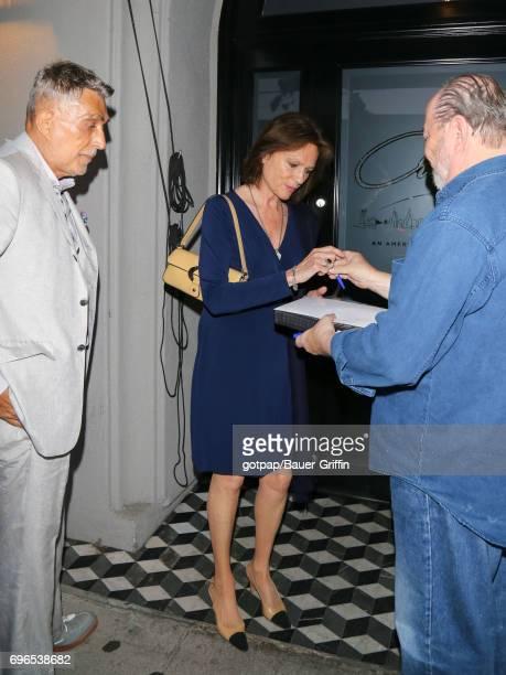 Jacqueline Bisset is seen on June 15 2017 in Los Angeles California