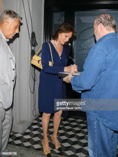 Jacqueline Bisset is seen on June 15 2017 in Los Angeles California