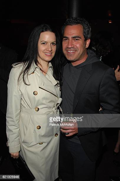 Jacqueline Bosnjak and Tommy Pallotta attend DIESEL BOX OFFICE hosts exclusive screening of THE TRACEY FRAGMENTS at Tribeca Cinemas NYC on May 6 2008