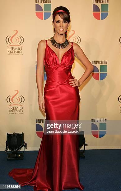 Jacqueline Bracamontes during 2006 Premio Lo Nuestro Press Room at American Airlines Arena in Miami United States