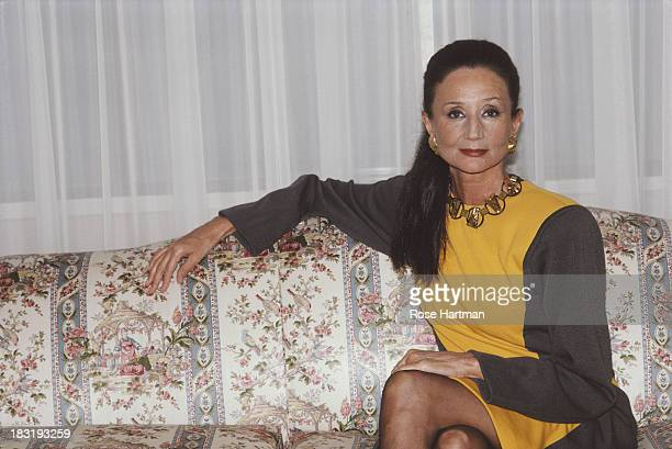 Jacqueline Comtesse de Ribes at the Regency Hotel New York City March 1987